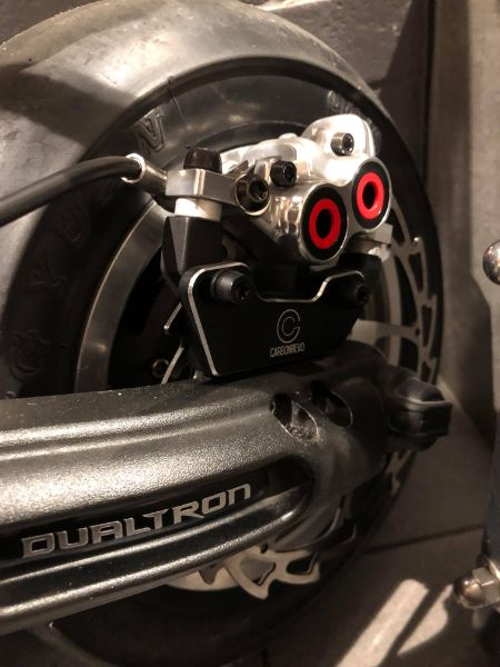 Magura On Carbonrevo Thunder 7075 Brake & Rotor Kit